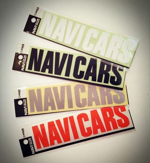 NAVI CARS Logo Decal