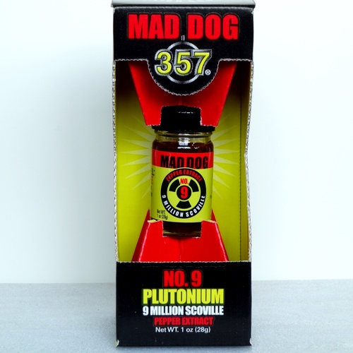 マッドドッグプルトニウム900万shu (Mad Dog 357 Plutonium 9 Million Scoville Pepper Extract)