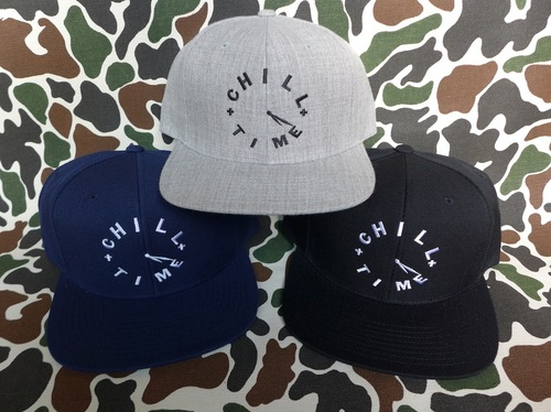 CHILL TIME SNAPBACK CAP