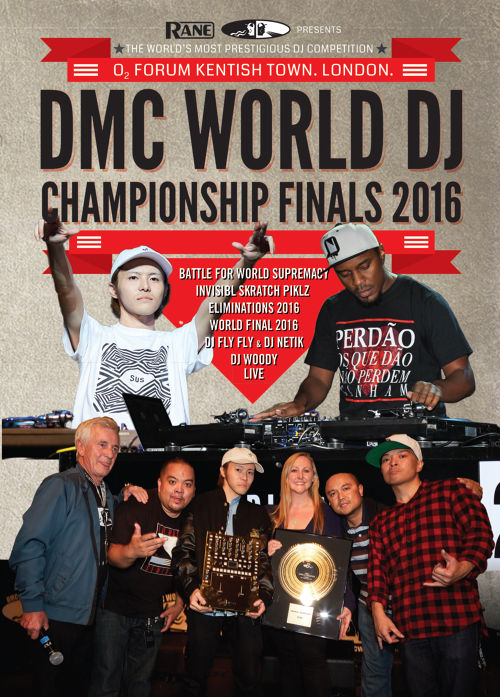 DMC WORLD DJ CHAMPIONSHIP 2016 DVD