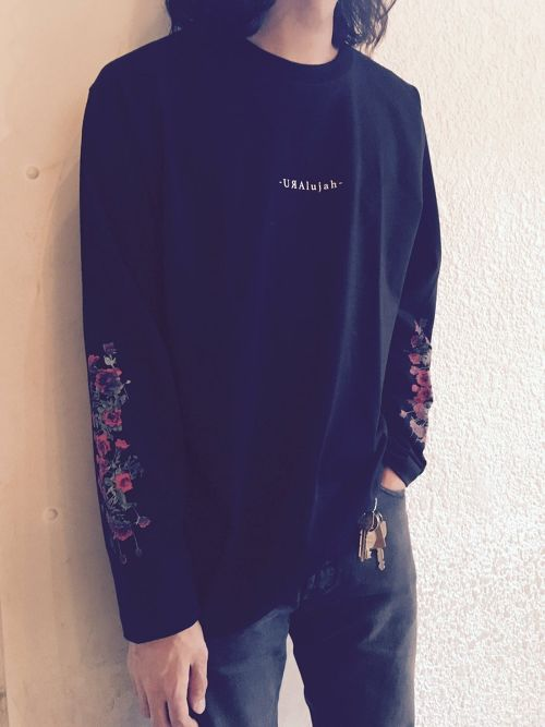 MERZ-0094 Red Rose Long Sleeve T-Shirts