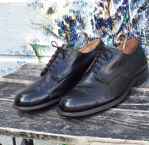 1960s vintage USNAVY service shoes