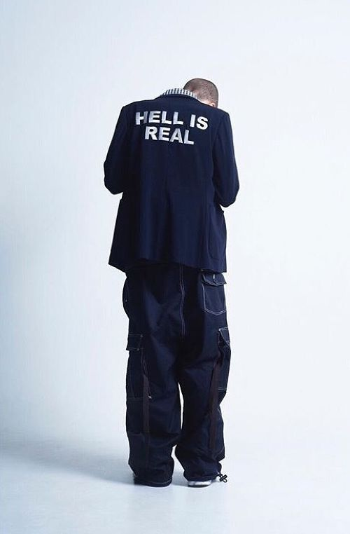 TTT MSW SS17 HELL IS REAL JACKET