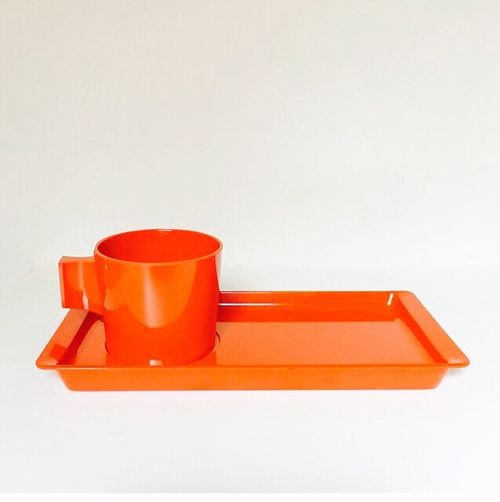 Fiskamin TV set (Orange)