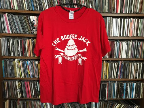 【SALE】THE BOOGIE JACK 「NEVER SAY DIE」Tシャツ
