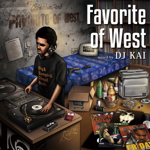 DJ KAI / Favorite of West / MIX CD