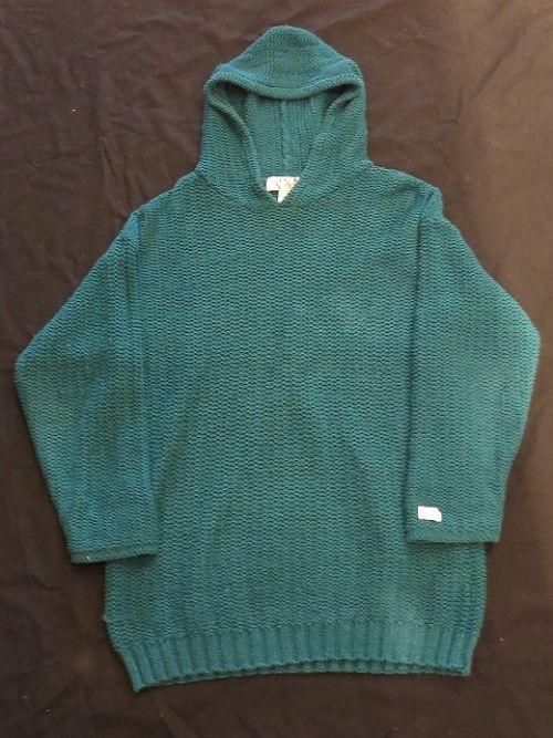 90's Hooded Cotton Knit