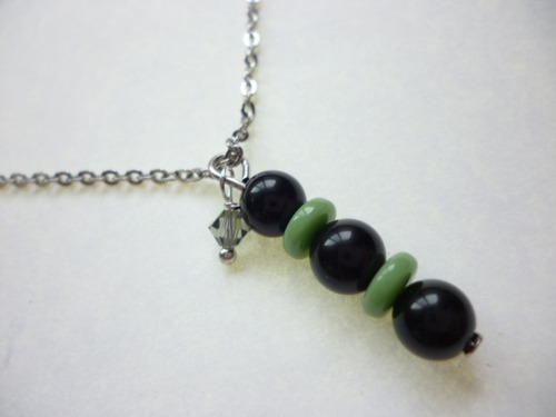 Morion Necklace / 幻の黒水晶のネックレス