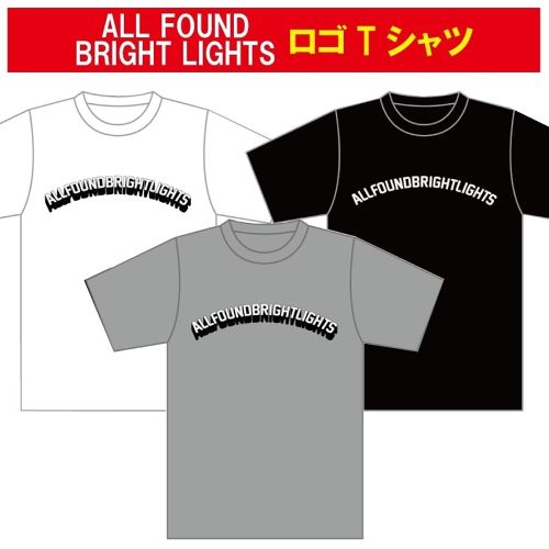 ALL FOUND BRIGHT LIGHTS LOGO T-SHIRTS