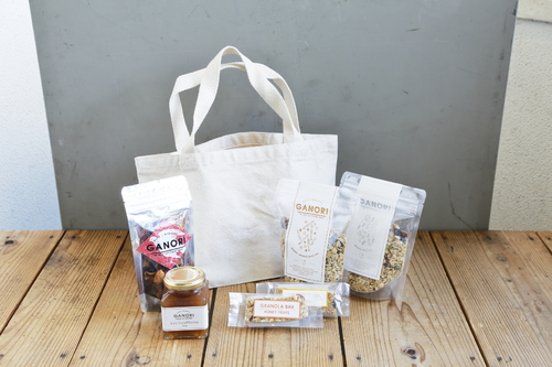 TOTE BAG GIFT SET LARGE(JAPNESE GOBOU&NUTS ver.) | トートギフト ラージ(和風ごぼう&ナッツver.)