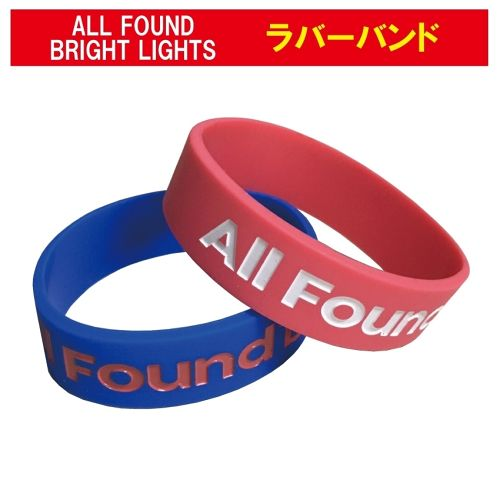 ALL FOUND BRIGHT LIGHTS ラバーバンド