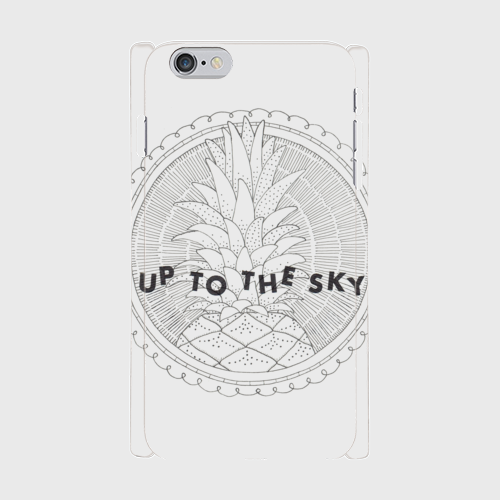 Up to the sky iPhone6Plusケース (Designed by 安河内 彩香)