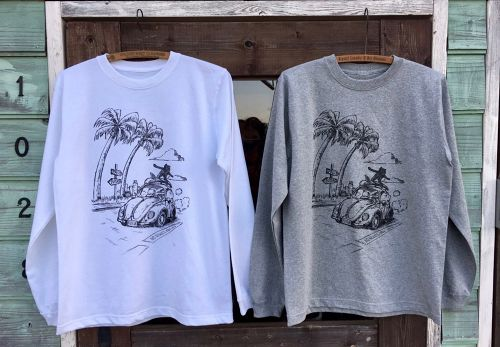 【NEW】 フテネコ × strip NNOL L/S T-shirts