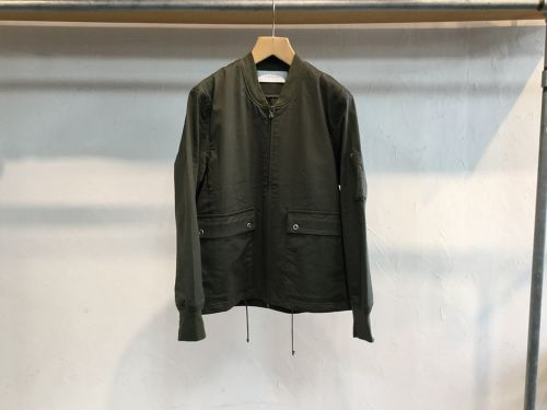"CURLY""AVIATOR BLOUSON OLIVE"""