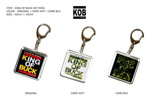 KING OF BUCK KEY RING