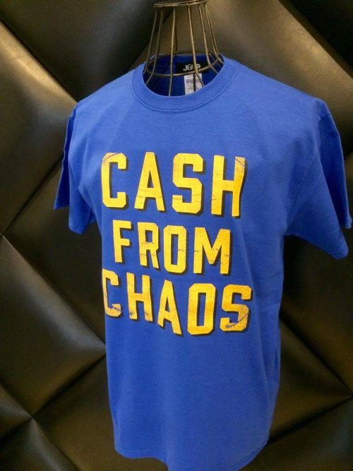 CASH FROM CHAOS PULL 6,0onz T-shirts col.blue