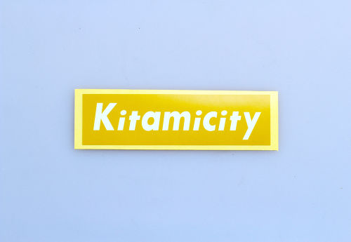 【NEW】KITAMICITY STICKER YELLOW
