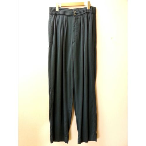 Euro vintage slacks (dark Green)