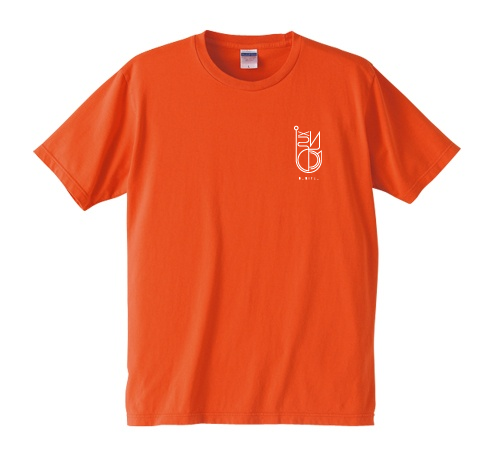 BURITSU LOGO T : Orange