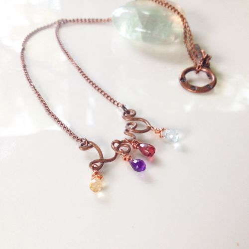 LOVE*copper Necklace