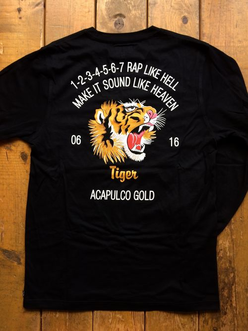 [ ACAPULCO GOLD ] FLYING TIGER L/S TEE