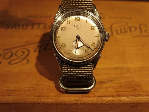 50~60's ELGIN Vintage Watch
