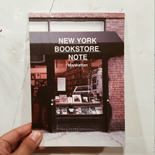 NEW YORK BOOKSTORE NOTE