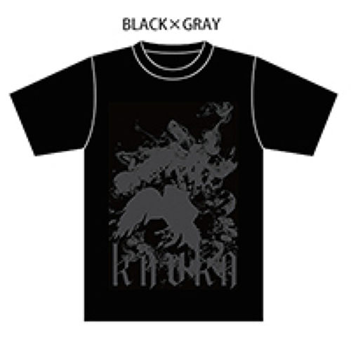 OFFICIAL T-shirts【BLACK×GRAY】