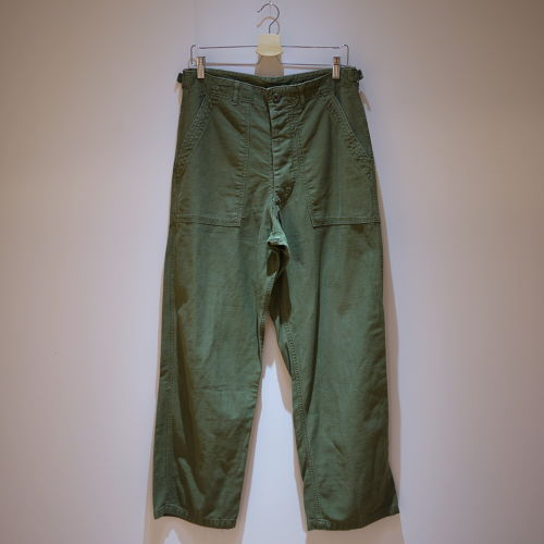 "U.S.Military 1960's OG107 Sateen Pants SizeM ""W33 L30"""
