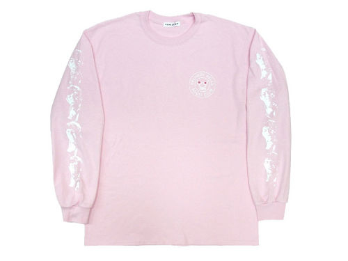 """""""DELIHELL"""" L/S Tee  PINK"""