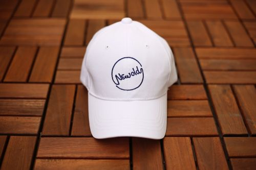 Circle Logo Cap(WHITE)