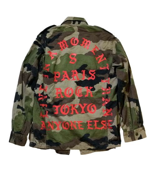 """""""LIVE IN A MOMENT"""" KAMO F2 JACKET"""