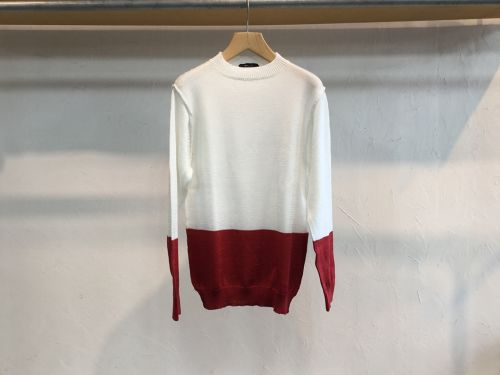 "40%OFFsemoh""Cotton Knit White"""