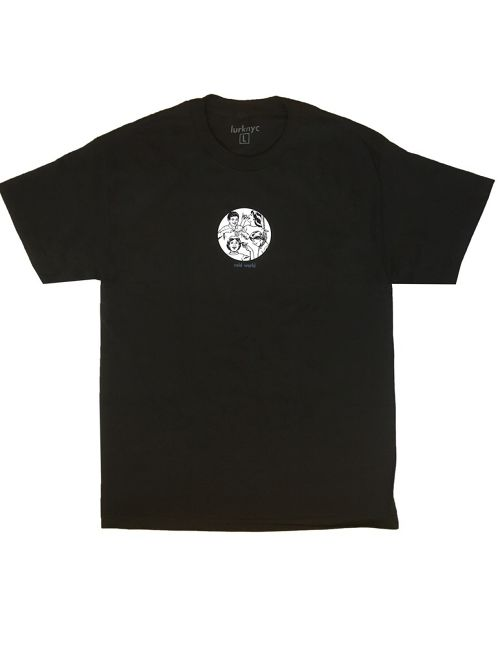 LURK NYC COLD WORLD S/S TEE BLACK