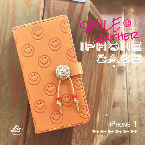iPhone 7 CASE 35 / SMILE Leather