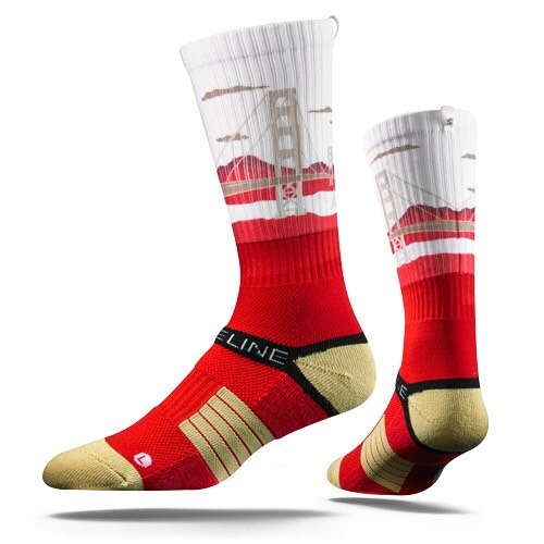 City Line, Scarlet-Gold City View, Strapped Fit 2.0