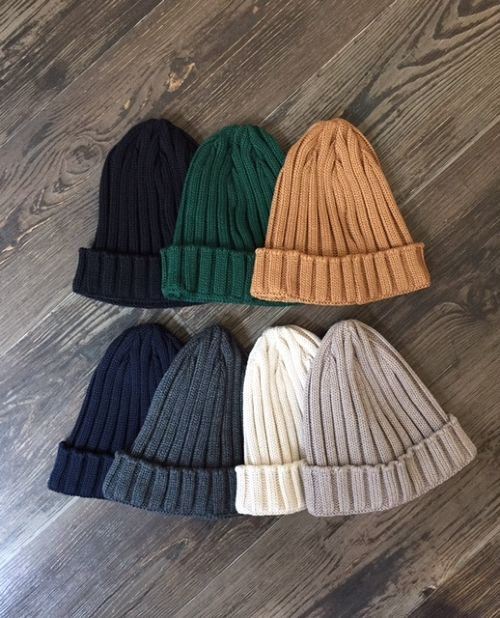 "LEUCHTFEUER   ""ORLAND(3×3 RIB KNIT CAP)"""