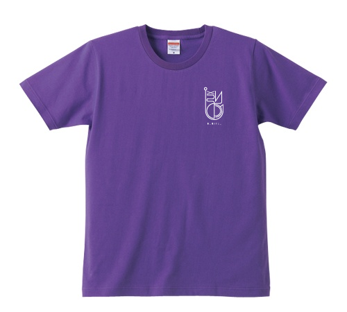 BURITSU LOGO T : Purple