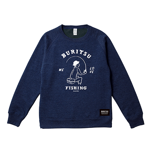 BURITSU BOY SWEAT : Navy