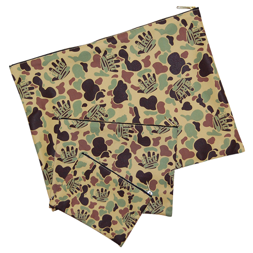 "再入荷 ""Yo! Bros"" Camo Clutch Bag size L"