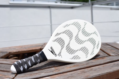 Frescobol Semi-Professional Couture Racket - Speedo(White)