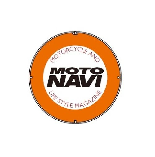 MOTO NAVI Logo Button Badge