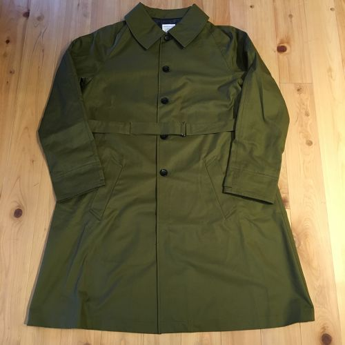 """HERVIER """"FRENCH MOTORCYCLE COAT""""(olive)"""