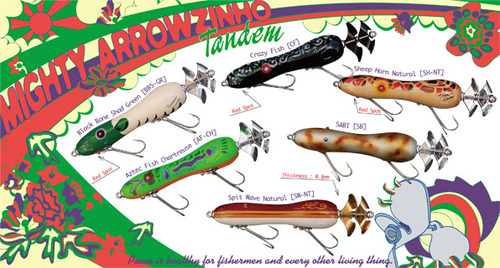 Tsunami Lures★【Mighty Arrowzinho Tandem】