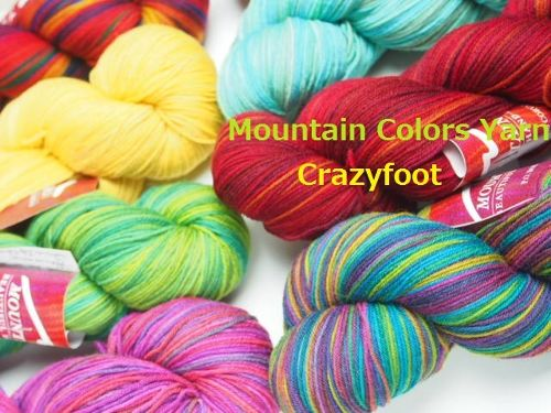 Mountain Colors Yarn / Crazyfoot