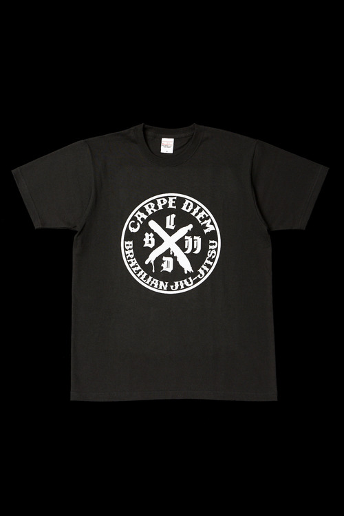 CARPE DIEM LOGO T-shirt BLACK