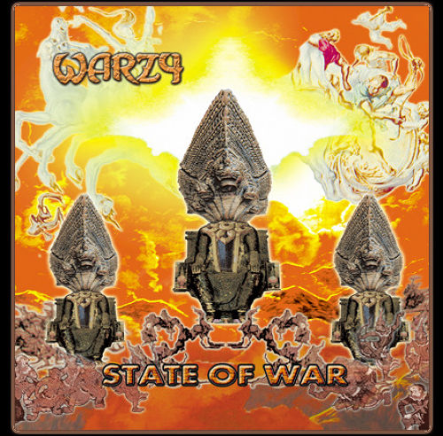 WARZY『STATE OF WAR』CD