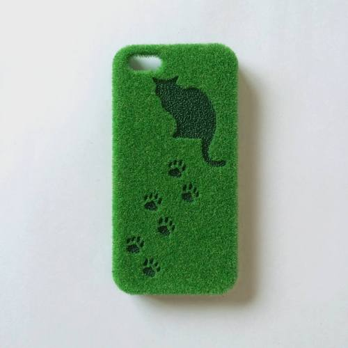 【SOLD OUT】ShibaCAL for GIRLIN' ::: Cat ::: Design by 灰色ハイジ【iPhone 5 / 5s スマホケース】