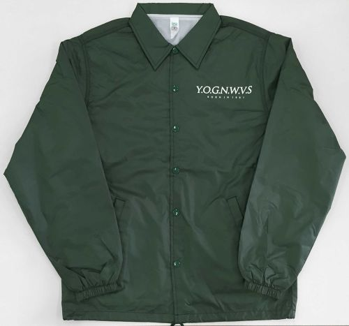 YOG OLD SCHOOL COACH JACKET (Dark Green 2016ver.)
