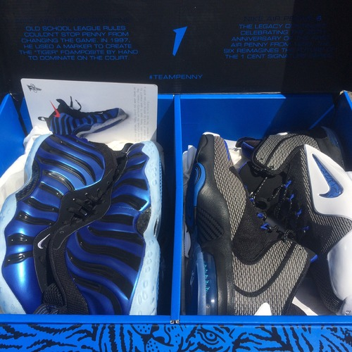 "NIKE PENNY PACK QS 800180-001 ""SHARPIE PACK"""